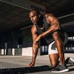Personal trainer completing a total body HIIT workout.