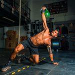 Personal trainer running