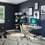 A space to work with a personal trainer at home.