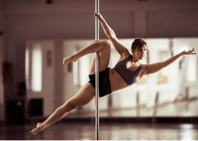 A pole fitness instructor.