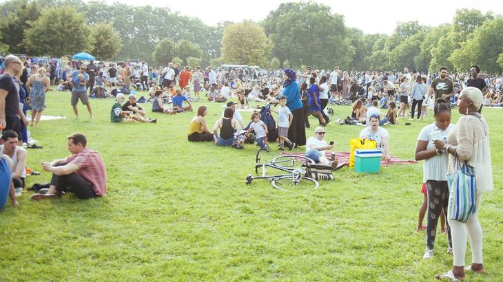 As well as being a great festival venue, Hackney Downs is also ideal for meeting with your personal trainer in Hackney.