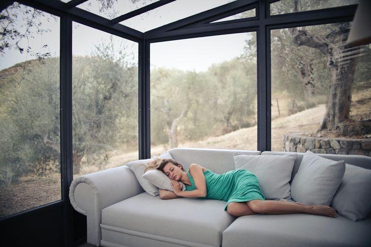 Sleep to increase your metabolic rate.
