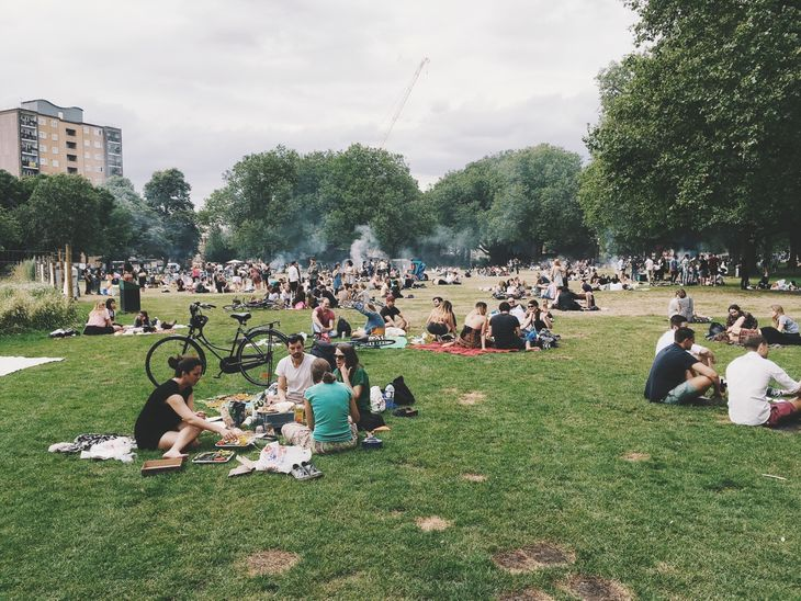 A popular social spot, London Fields is also a great option for somewhere to meet your personal trainer in Hackney.