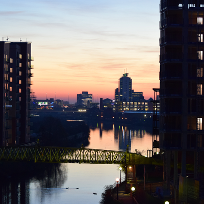 Why not meet up with one of the personal trainers in Manchester on our site for a workout on the banks of the River Irwell?