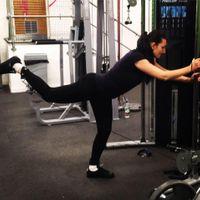 Emilia Lucaciu personal fitness trainer